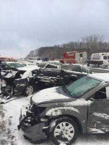 LET'S AVOID THIS! photo credit: Michigan State Police