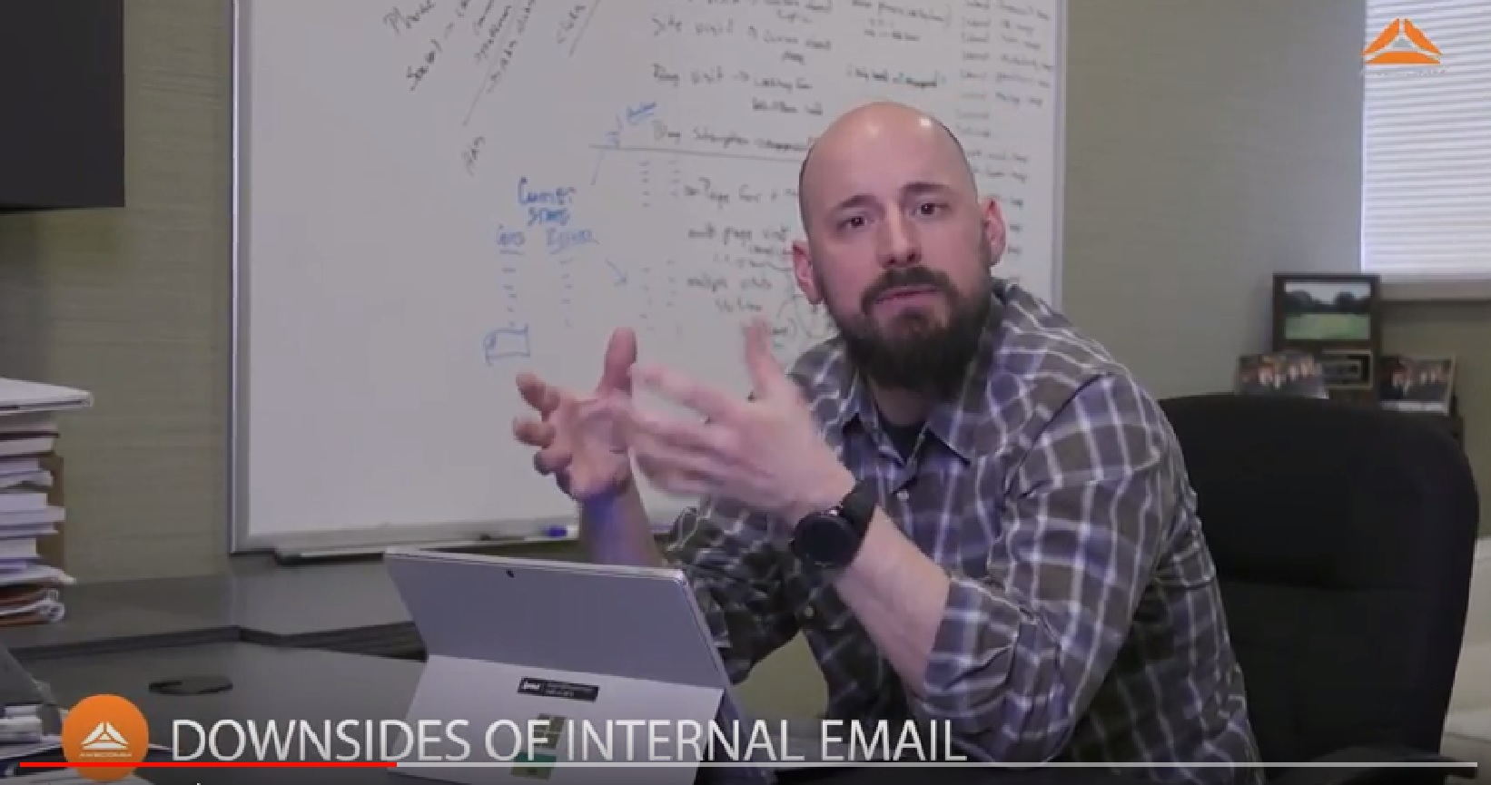 Should you host corporate email internally